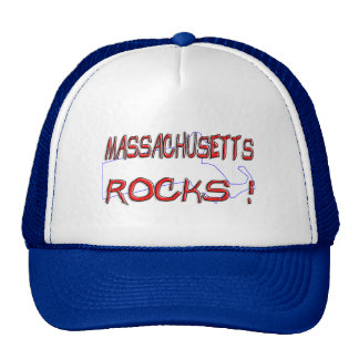 Massachusetts ROCKS Trucker Hat