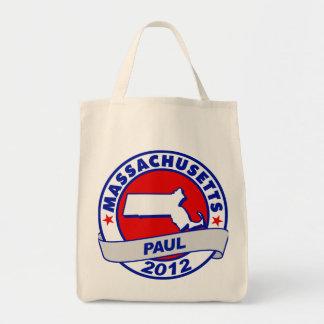 Massachusetts Ron Paul Canvas Bag