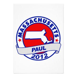 Massachusetts Ron Paul Custom Announcements