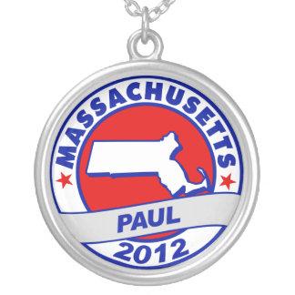 Massachusetts Ron Paul Pendant