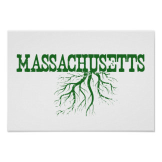 Massachusetts Roots Poster