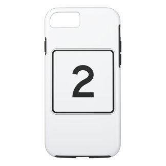 Massachusetts Route 2 iPhone 8/7 Case