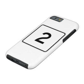 Massachusetts Route 2 Tough iPhone 6 Case