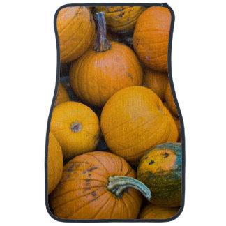 Massachusetts, Salisbury, pumpkins, autumn Floor Mat