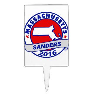 massachusetts Sanders 2016.png Cake Toppers