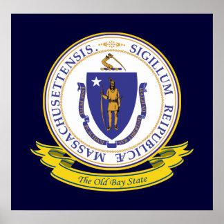 Massachusetts Seal Poster