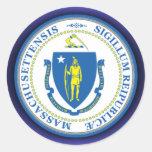 Massachusetts Seal Sticker