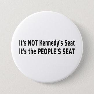 Massachusetts Senate Race Pinback Button
