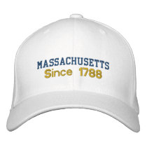 Massachusetts Since 1788 Cap