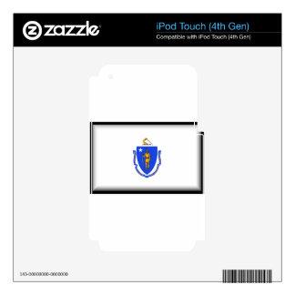 Massachusetts iPod Touch 4G Decals