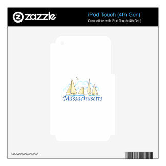 Massachusetts iPod Touch 4G Decal