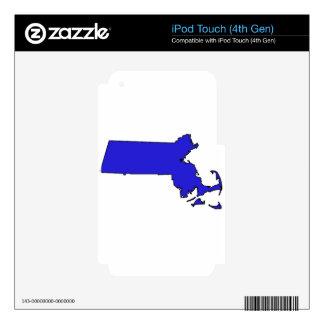 Massachusetts iPod Touch 4G Skin