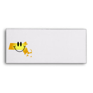Massachusetts Smiley Face Envelopes
