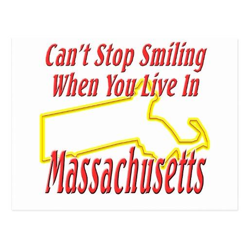Massachusetts - Smiling Postcard