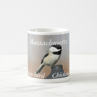Massachusetts state bird photo coffee mug