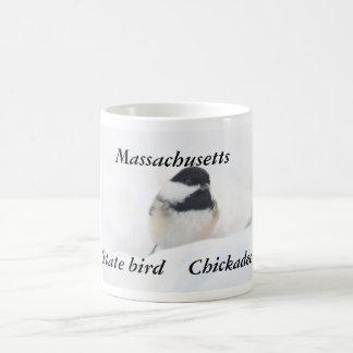 Massachusetts state bird photography coffee mug