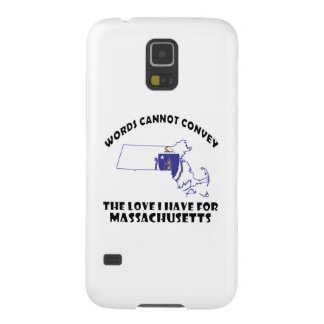 Massachusetts state flag and map designs case for galaxy s5