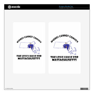 Massachusetts state flag and map designs decals for kindle fire