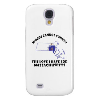 Massachusetts state flag and map designs galaxy s4 case