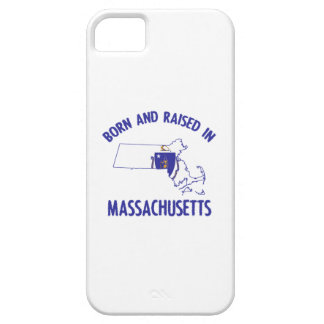 Massachusetts state flag and map designs iPhone SE/5/5s case