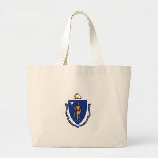 Massachusetts State Flag Bags