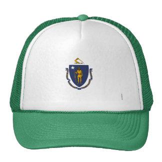 Massachusetts State Flag Trucker Hats