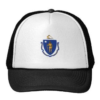 Massachusetts State Flag Mesh Hat