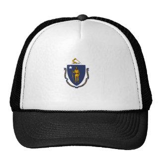 Massachusetts State Flag Mesh Hats