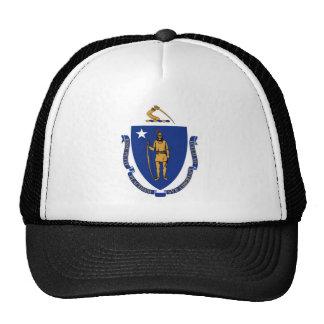 Massachusetts State Flag Hats