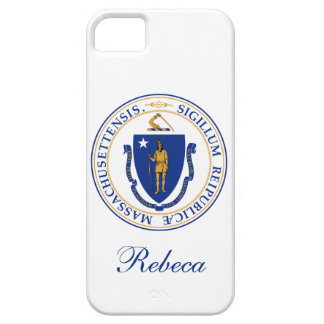 Massachusetts State Flag iPhone SE/5/5s Case