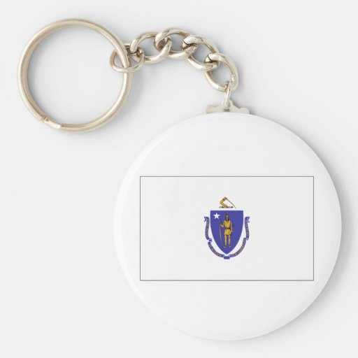 Massachusetts State Flag Key Chains