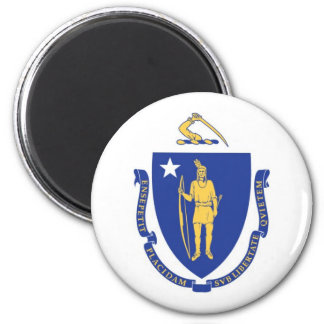 Massachusetts State Flag Magnet