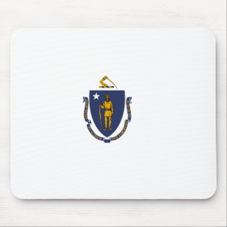 Massachusetts State Flag Mouse Pad