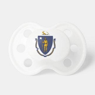 Massachusetts State Flag Baby Pacifier