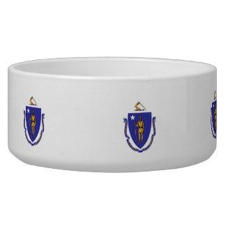Massachusetts State Flag Pet Bowl