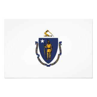 Massachusetts State Flag Art Photo