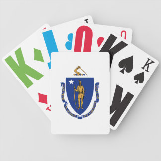 Massachusetts State Flag Playing Cards