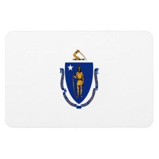 Massachusetts State Flag Rectangular Photo Magnet