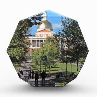Massachusetts State House Acrylic Award