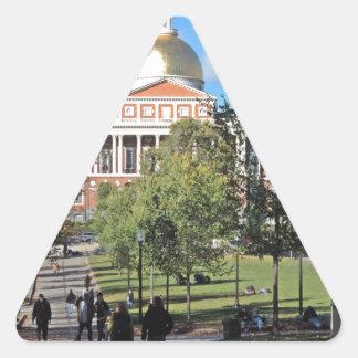 Massachusetts State House Triangle Sticker