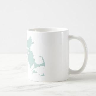 Massachusetts State Motto Slogan Classic White Coffee Mug