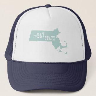 Massachusetts State Motto Slogan Trucker Hat