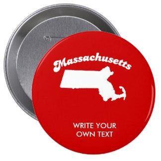MASSACHUSETTS STATE MOTTO T-SHIRT T-shirt Pin