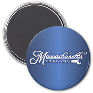 Massachusetts State of Mine Magnet
