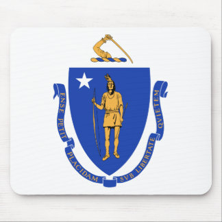Massachusetts State Seal Mouse Pad