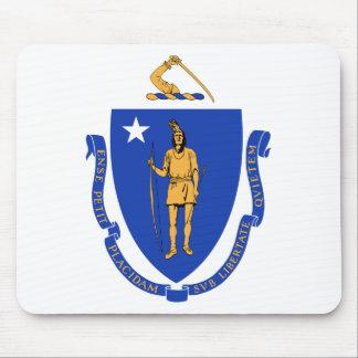 Massachusetts State Seal Mousepads