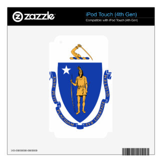 Massachusetts State Seal iPod Touch 4G Skins