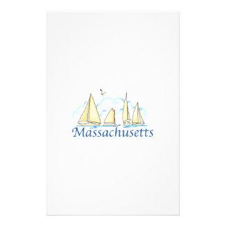 Massachusetts Stationery Design