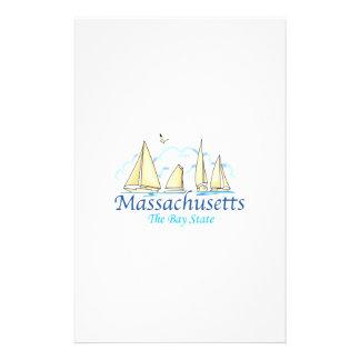 MASSACHUSETTS STATIONERY PAPER
