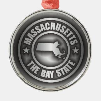 """Massachusetts Steel"" Ornaments"